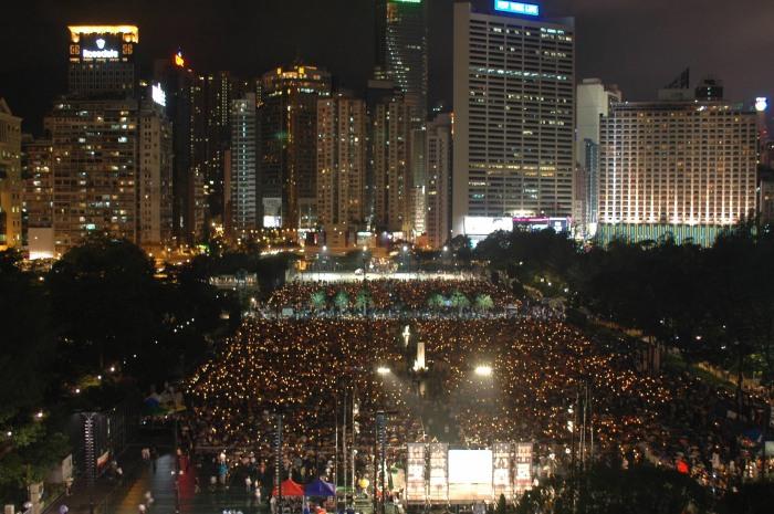 六四慘案與香港的抗共自救運動